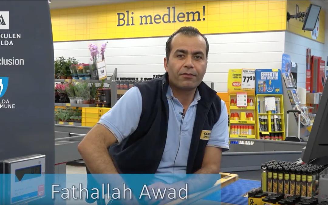 Fatallah – frå flyktning til språkprakis og butikksjef på 3,5 år